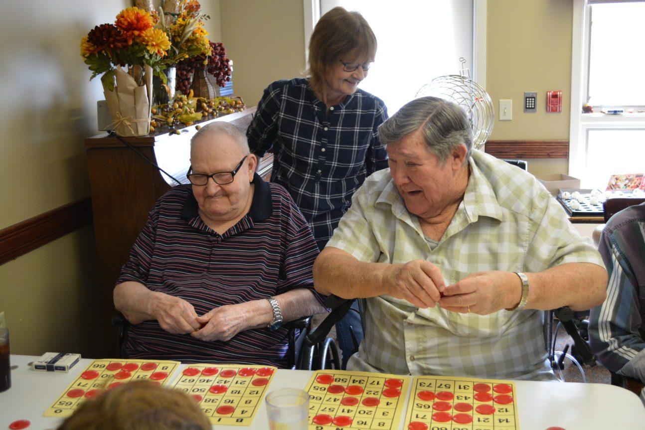 Bingo at nursing home