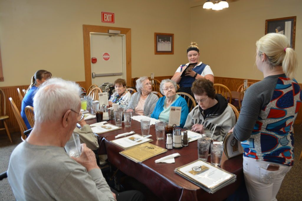 nursing home lunch