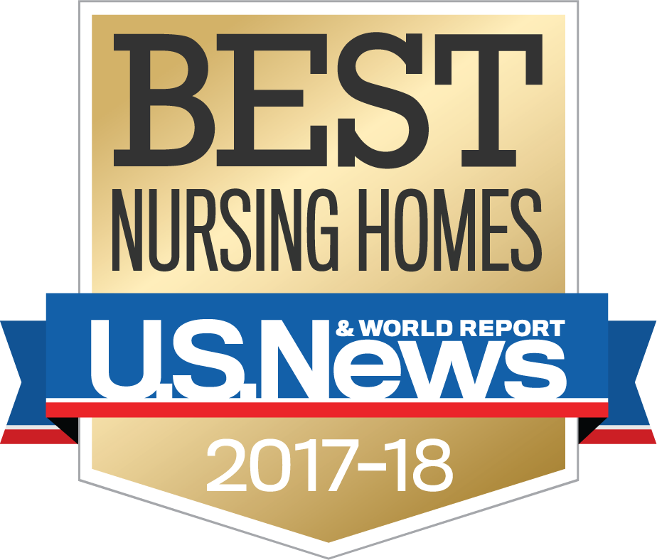 logo for US News and World Report ranking of nursing homes