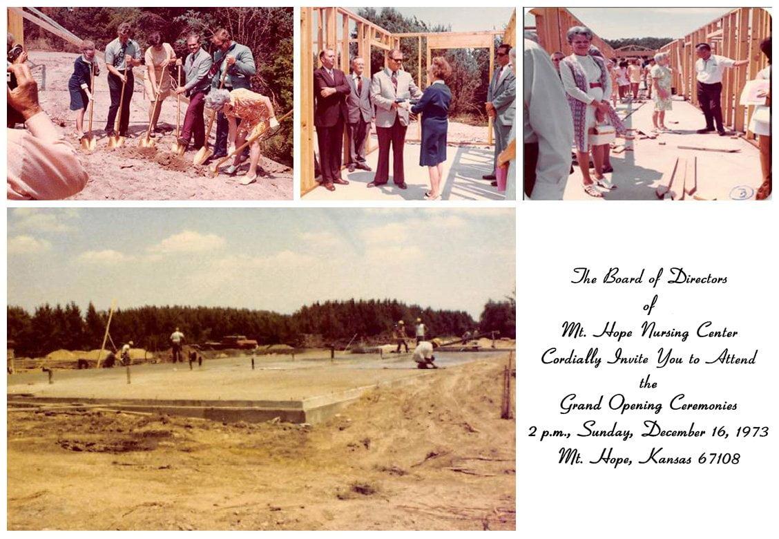 history 1973 - Mt. Hope Timeline