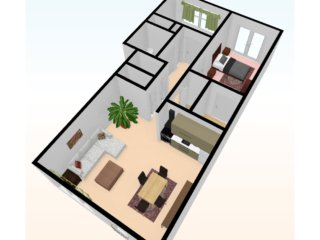 two_bed_3D_top_view_3