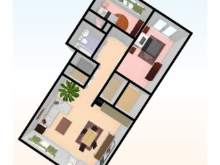 two_bed_3D_top_view_5