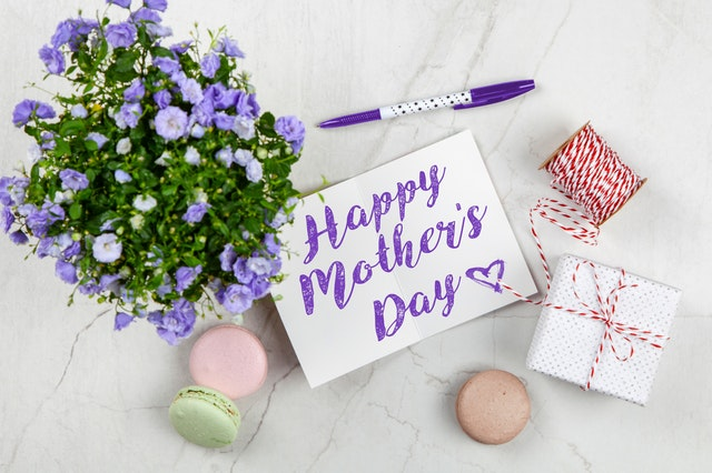 Mothers Day Card with little gifts - Mother's Day Nursing Home Gifts