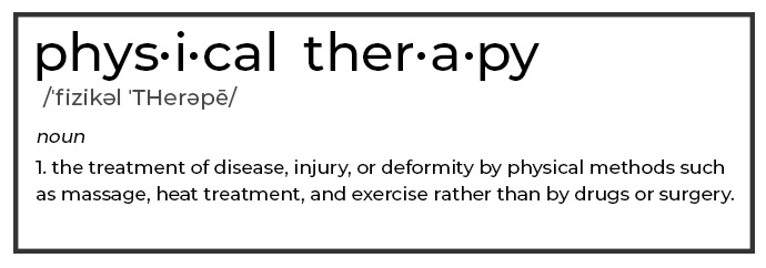 Physical Therapy Definition - Occupational Therapy vs Physical Therapy