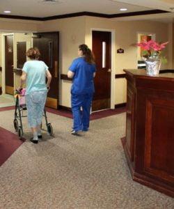 CNA hallway 250x300 - CNA Career: The Pay, The Work, The Training