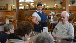 Group outing to Carriage Crossing in Yoder, KS for Mt Hope Nursing Center nursing home residents