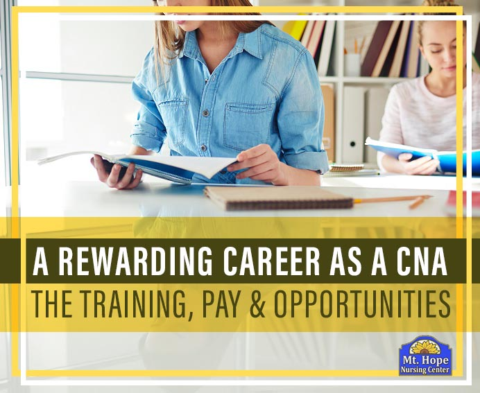 CNA pay and training